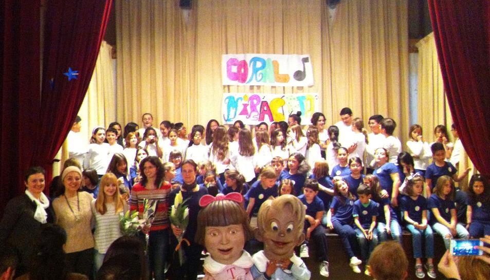 L'escola El Miracle de Tarragona presenta la coral Miracleta