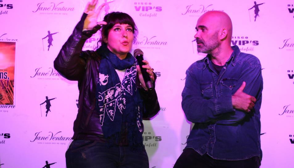 """Montse Solé presenta la seva novel·la """"100 millions Baby"""""""