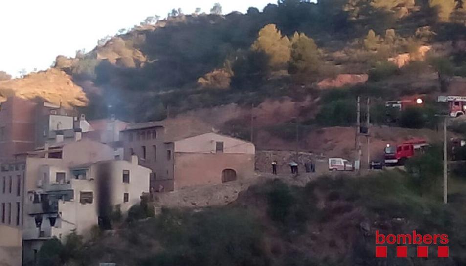 Quatre ferits en dos incendis a Vandellòs i l'Hospitalet de l'Infant i la Vilella Baixa