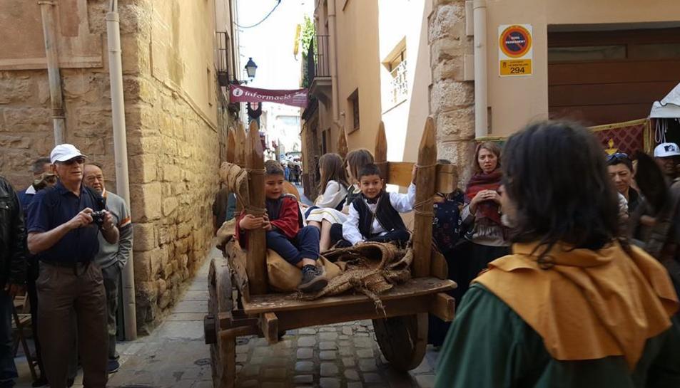Revive la Semana Medieval de Montblanc