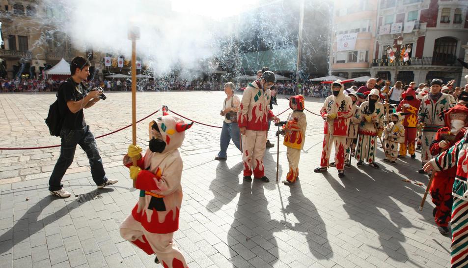 La presència del Ball de Diables a la Festa de Sant Pere, en perill