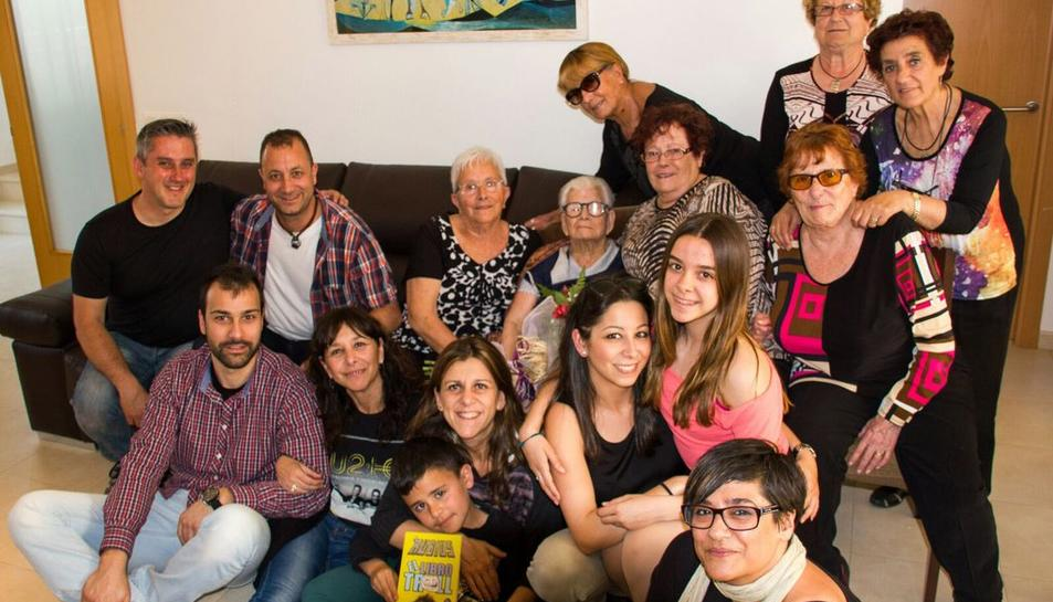 Isabel Antonino compleix 100 anys