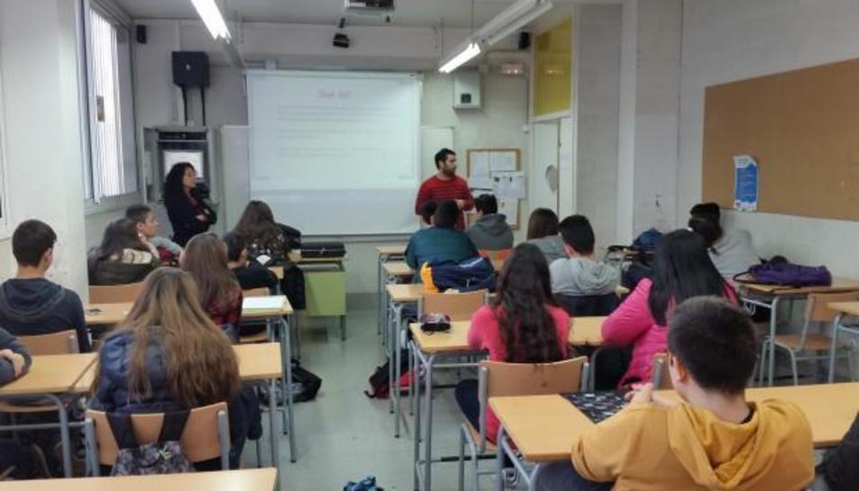 Els alumnes de l'Institut Baix Camp participen en el congrés d'educació WFATE