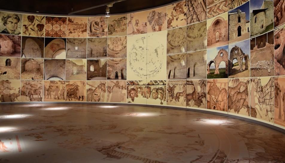 El MNAT presenta una exposició sobre la vil·la romana de Centcelles