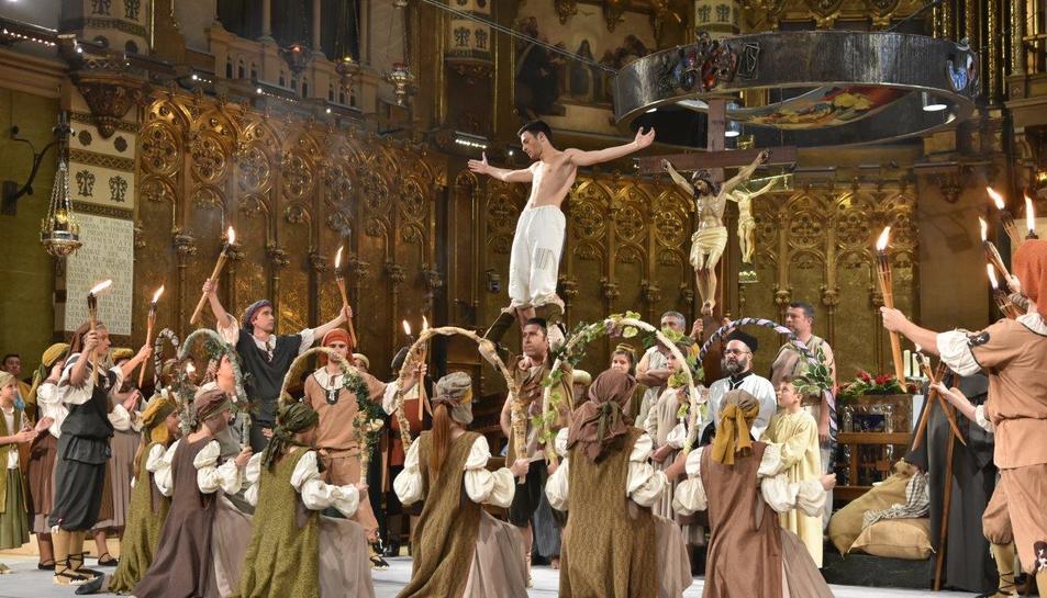 'El Ball del Sant Crist', de Salomó a Montserrat