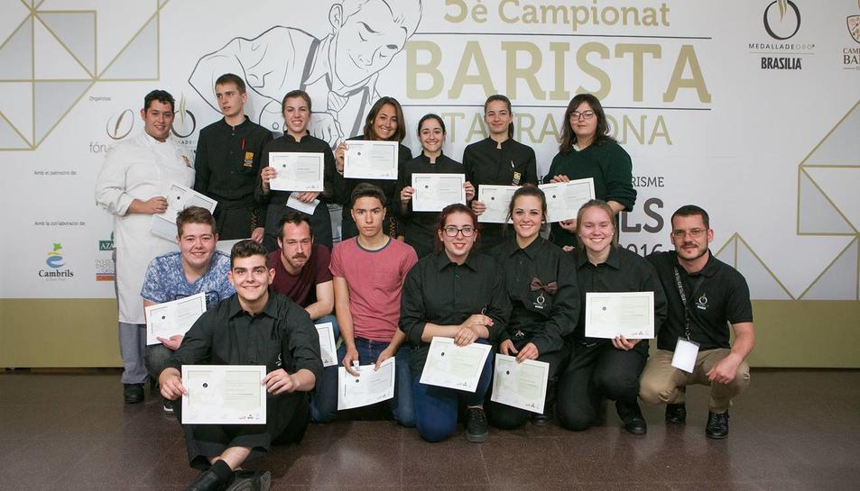 Gesamí Caramés, millor barista de les comarques de Tarragona
