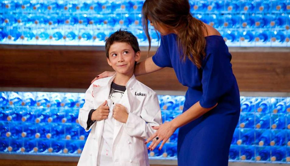 Lukas de Masterchef Junior i Carles Capdevila, al Calafell Family Weekend