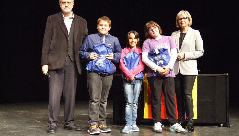 Entrega de premis del Concurs Literari Sant Jordi