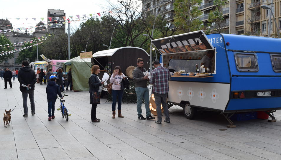 Los food trucks de la plaza Llibertat