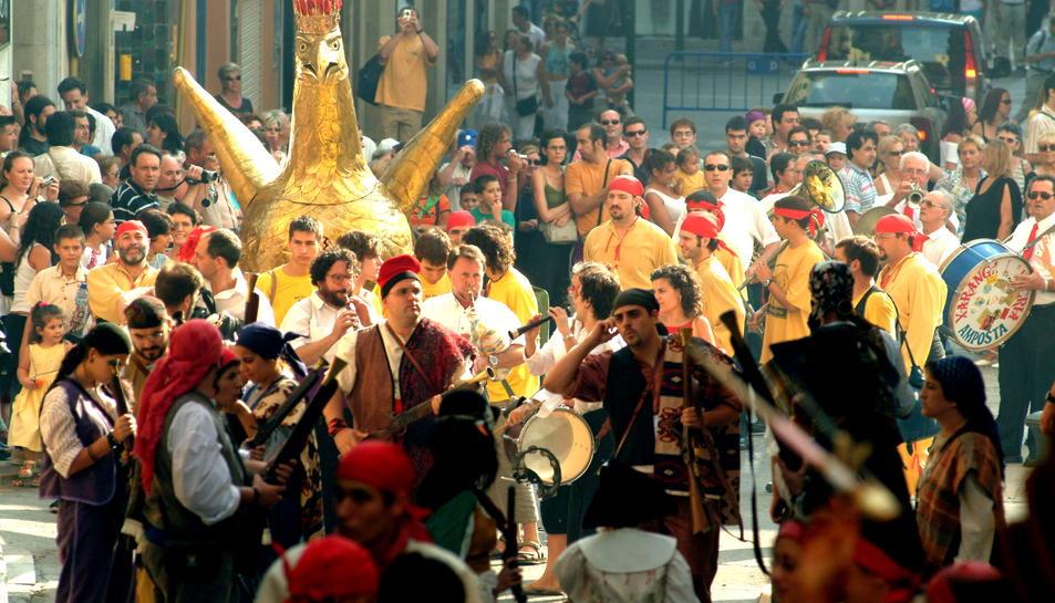 L'Àliga de Tarragona és l'element més protegit i simbòlic del Seguici Popular.