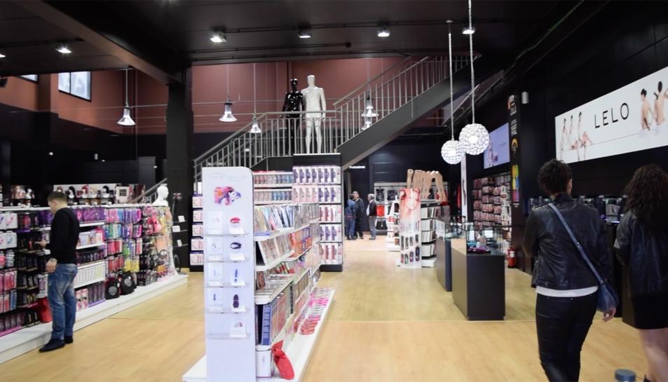 El supermercat eròtic de Tarragona obre les seves portes