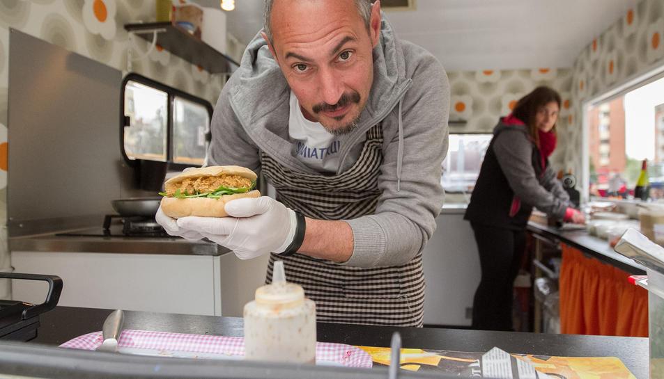 Els visitants podien triar entre una gran oferta gastronòmica de les food truck.