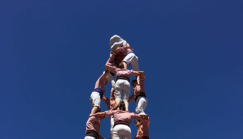 4de8 dels Xiquets de Tarragona.
