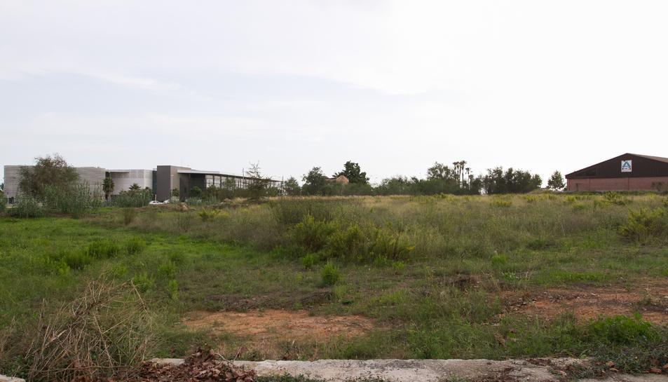 Una imatge d'arxiu dels darrers terrenys municipals en canviar de mans, a la zona de La Roureda.