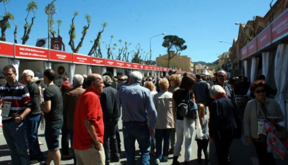 Durant el cap de setmana, més de 10.000 visitants han passat per la Fira del Vi de Falset