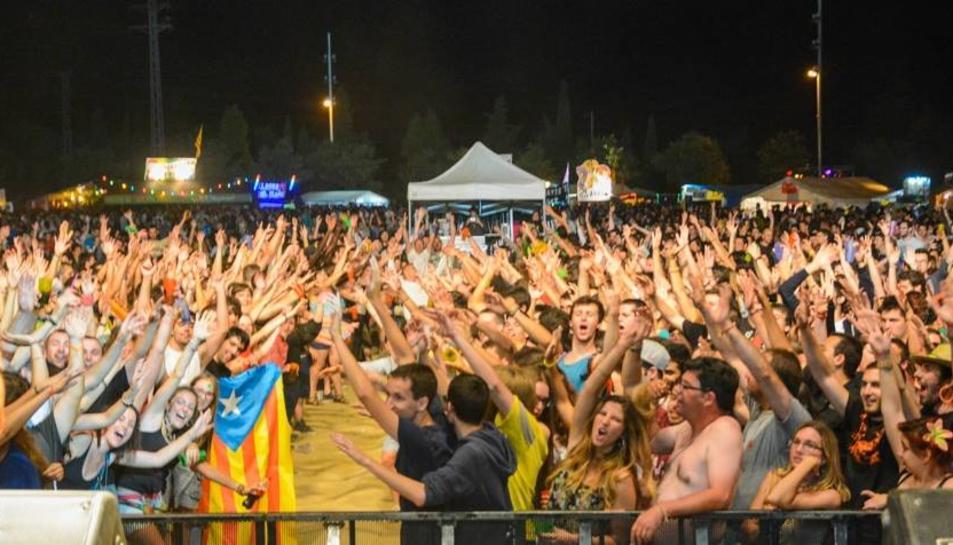 Barraques de Reus redueix un dia d'actuacions musicals