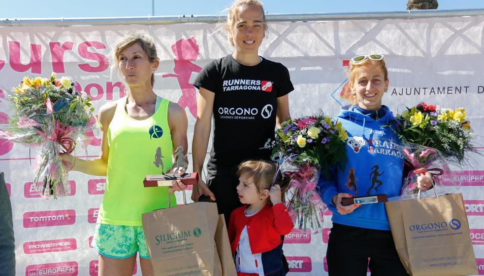 Mireia Sosa repeteix victòria a la Cursa de la Dona de Salou