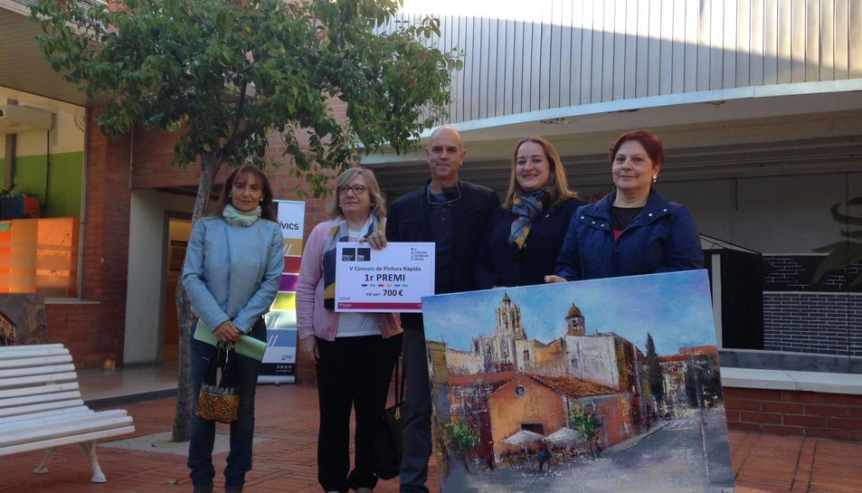 Fins a 22 obres participen al 5è concurs de pintura a l'aire lliure 'Tarragona dins la muralla'