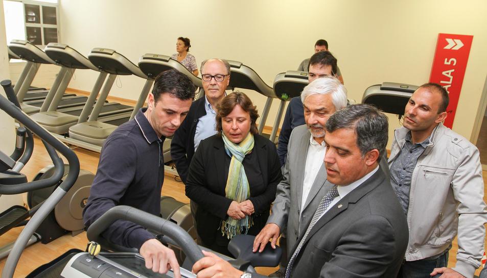 El Reus Deportiu inaugura la nova sala de Cardio, totalment renovada