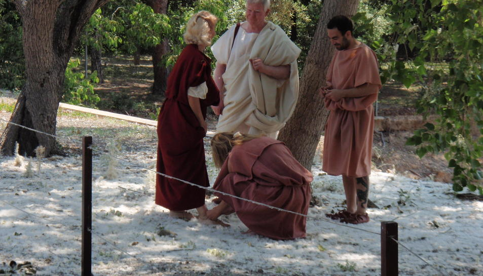 Els amulets perduts de Cleòpatra porten Tarraco Viva a Cambrils