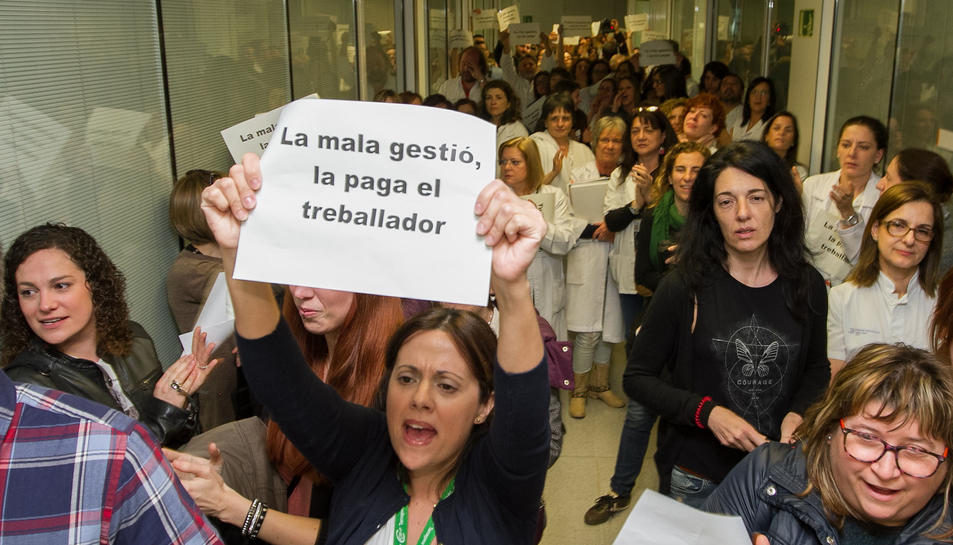 El comitè de l'hospital exigeix responsabilitats a tota la directiva