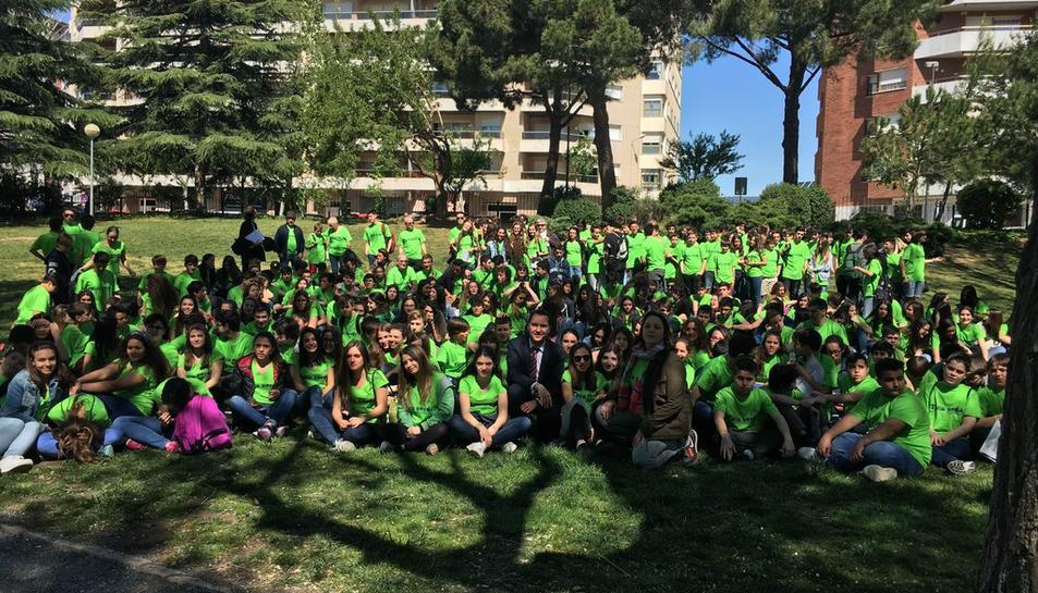 La 'Taca Verda' sensibilitza els reusencs sobre bones pràctiques ambientals