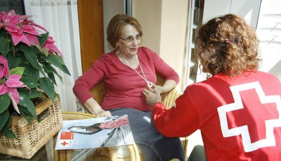 El servei de teleassistència de Creu Roja compta amb 280 usuaris