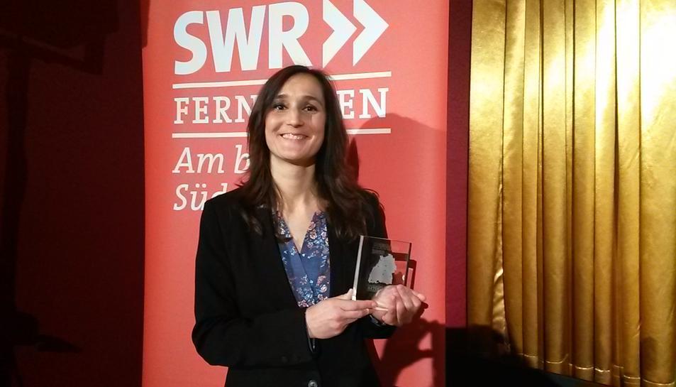 La vila-secana Alba Vidal guanya un premi de muntatge de vídeo d'una televisió alemanya