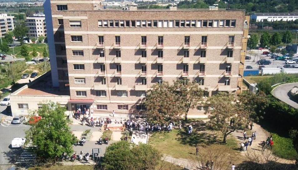Evacuen personal del Joan XXIII al disparar-se una alarma