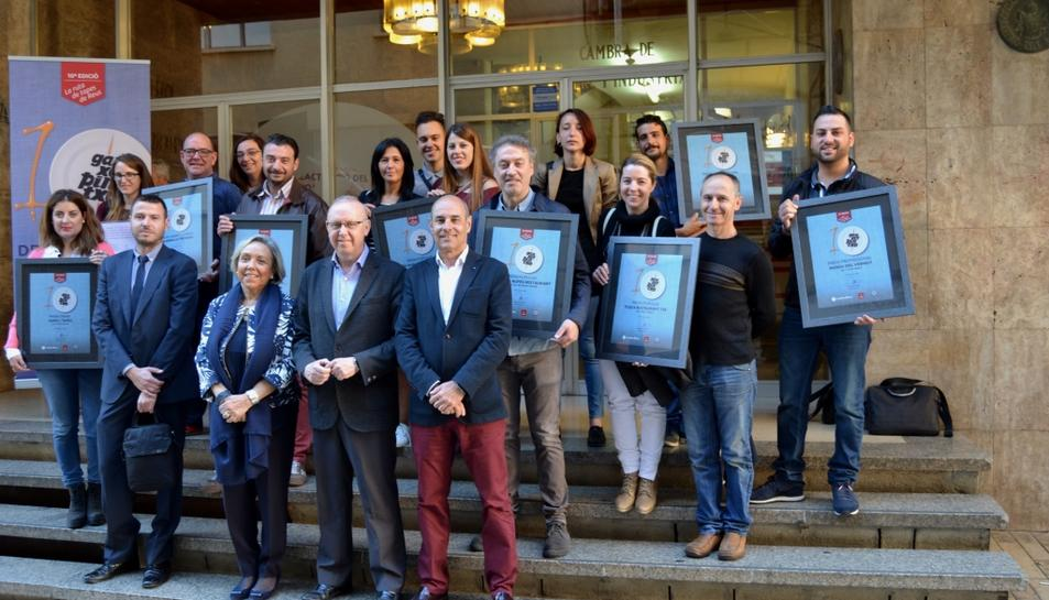 La taverna La Tronada, premi Ganxet Llengua