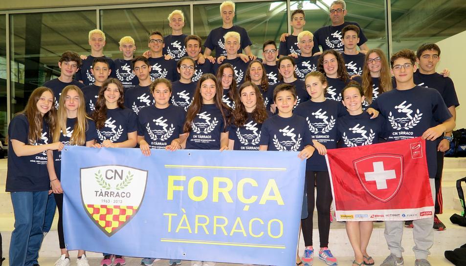 Ferran Siré, del CN Tàrraco, millor nedador infantil del 45è Meeting Internacional de Ginebra