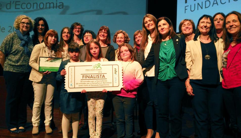 L'Escola Antoni Torroja i Miret, finalista al Premi Ensenyament atorgat per la Fundació Cercle d'Economia