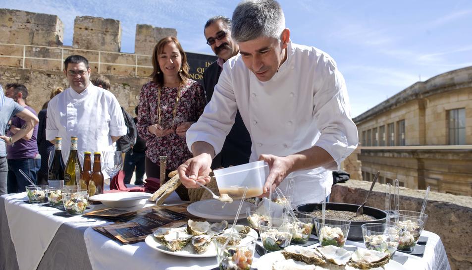 El Pretori va acollir la presentació del festival gastronòmic més important de la ciutat.