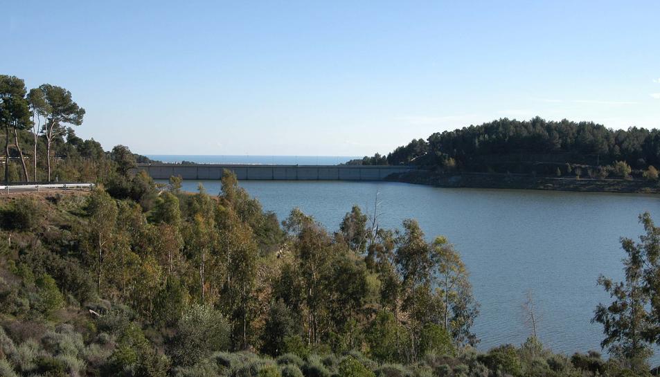 El volum d'aigua dels pantans de Siurana i Riudecanyes incrementa un 8% durant l'abril