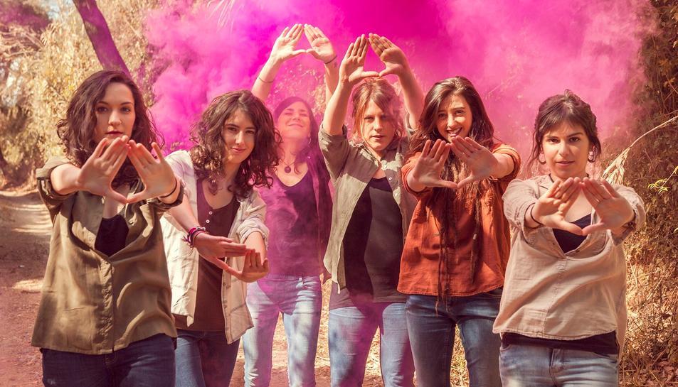 El grup Roba Estesa està format per sis noies del Camp de Tarragona.