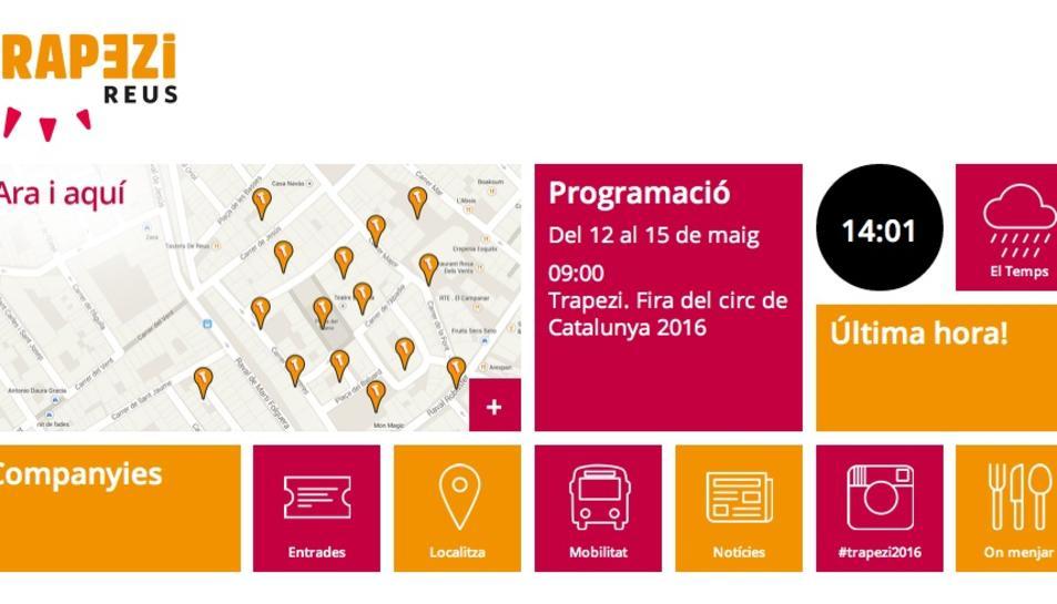 La vintena edició del Trapezi tindrà una app