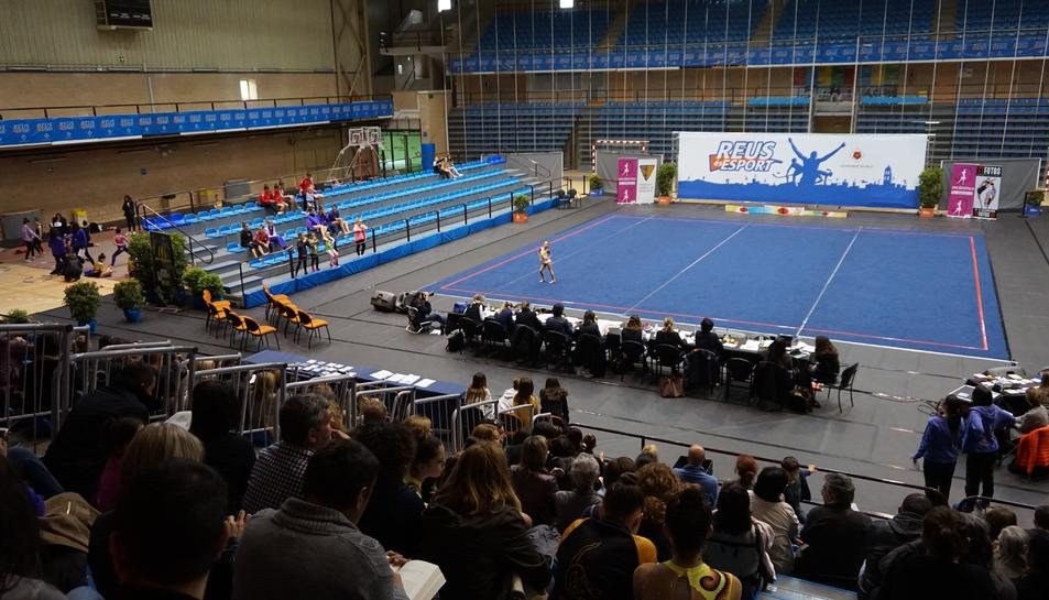 El Pavelló Olímpic acull el Campionat de Catalunya de Gimnàstica rítmica escolar