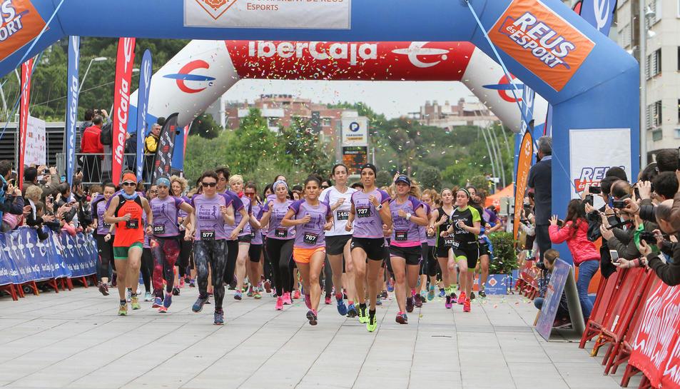 Reus celebra la quarta Cursa de la Dona
