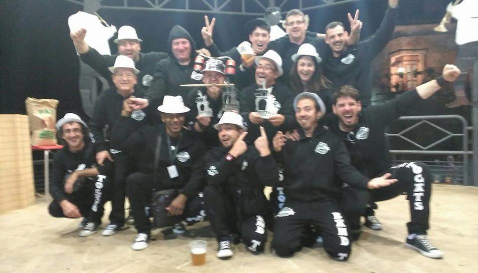 Band Tocats de Vila-seca, escollida millor xaranga estatal