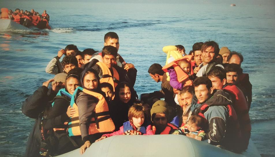 Les rutes dels refugiats cap a Europa, protagonistes de la nova exposició fotogràfica que acull la Diputació de Tarragona