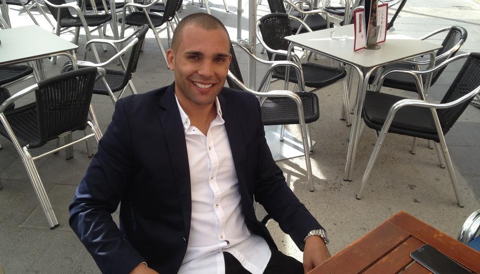 Danilo Silva ha passat uns dies a Tarragona.