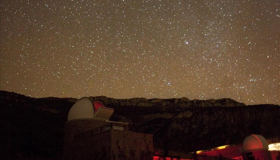 El cel del Montsant i dels Ports, dels millors de Catalunya per observar estels