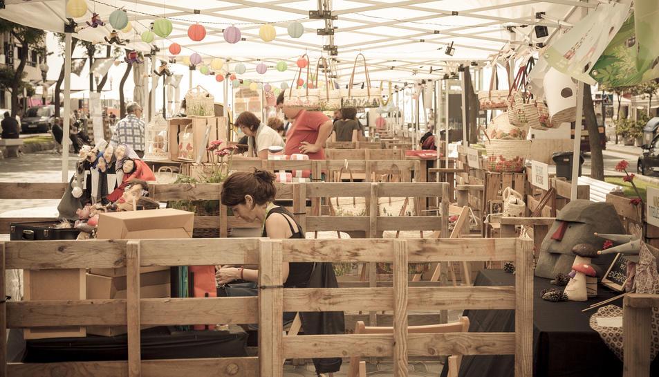 27 artesans ompliran la Rambla de 'coses boniques'