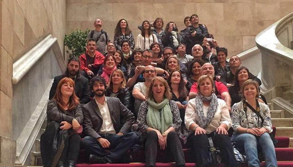 Instagramers de Tarragona al Parlament