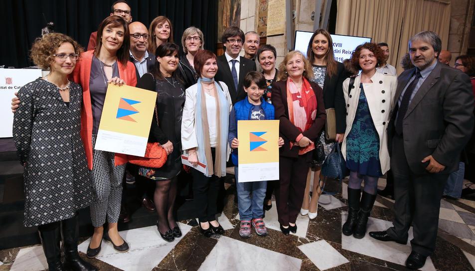 Els Premis Baldiri i Reixac reconeixen dues escoles de Tarragona