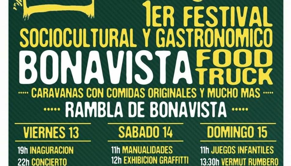 Bonavista celebrarà el primer festival sociocultural i gastronòmic 'Bonavista Food Truck'