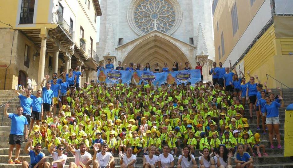 L'any passat van participar al TEC gairebé 300 nens i nenes.