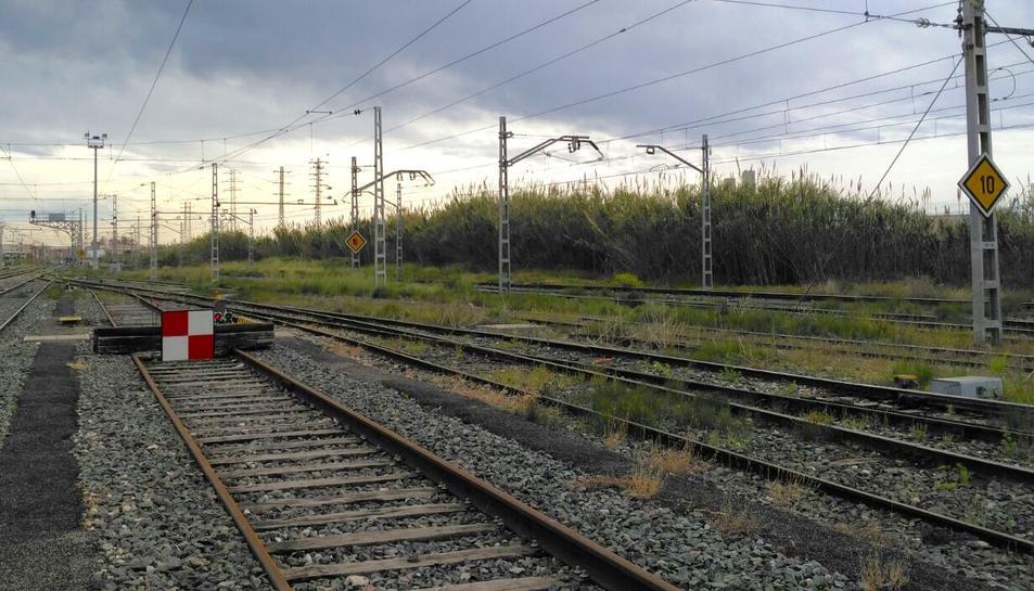 L'estació de classificació té carrils tallats per un canvi de via que va fer descarrilar un tren.