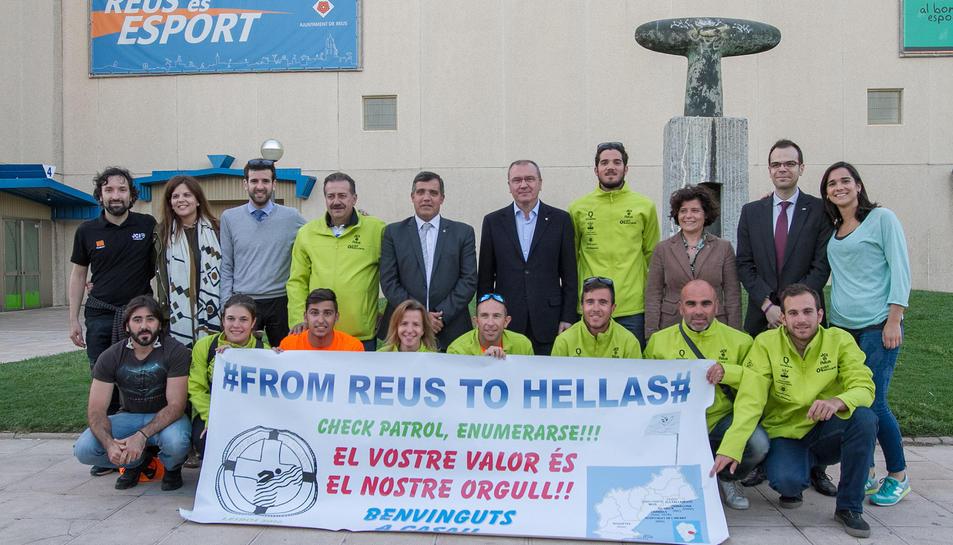 Els participants de From Reus to Hellas tornen a casa
