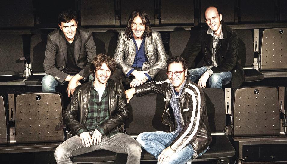 La banda musical Lax'n' Busto actuarà durant les festes de Sant Joan a Valls.